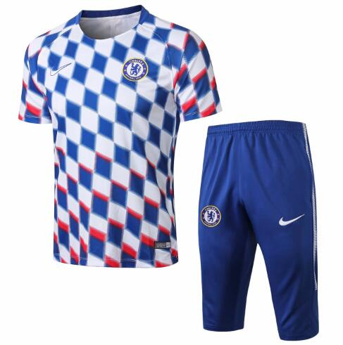 Chelsea Short Training Suit 2018-19 Blue
