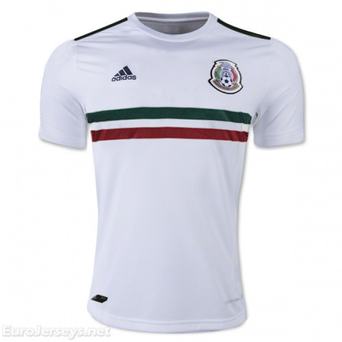 Mexico 2017-18 Away Shirt Soccer Jersey
