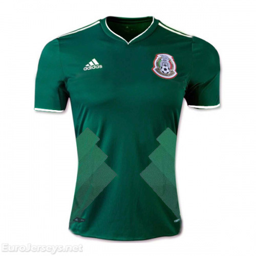 Mexico 2017-18 Home Shirt Soccer Jersey