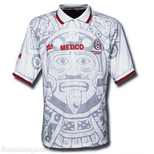 Mexico 1998 Away Retro Cheap Soccer Jerseys