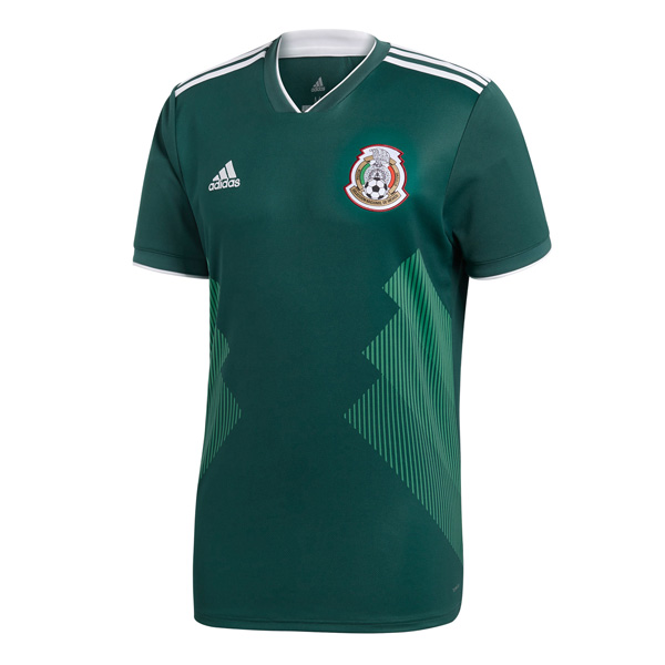 Mexico 2018 World Cup Home Shirt Soccer Jersey