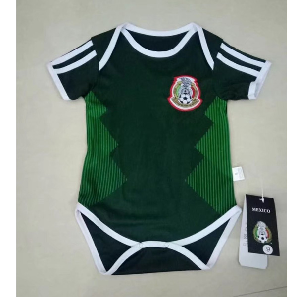 Baby Kids Mexico 2018 World Cup Home Soccer Jersey Kit
