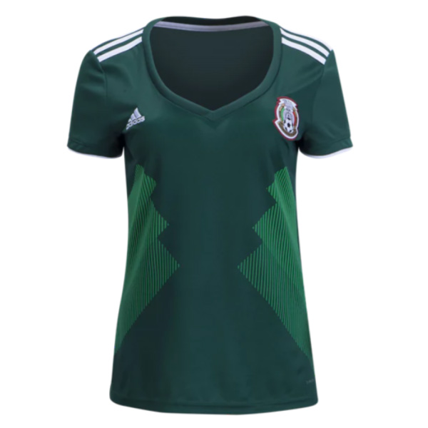 Mexico 2018 World Cup Home Women Shirt Soccer Jersey